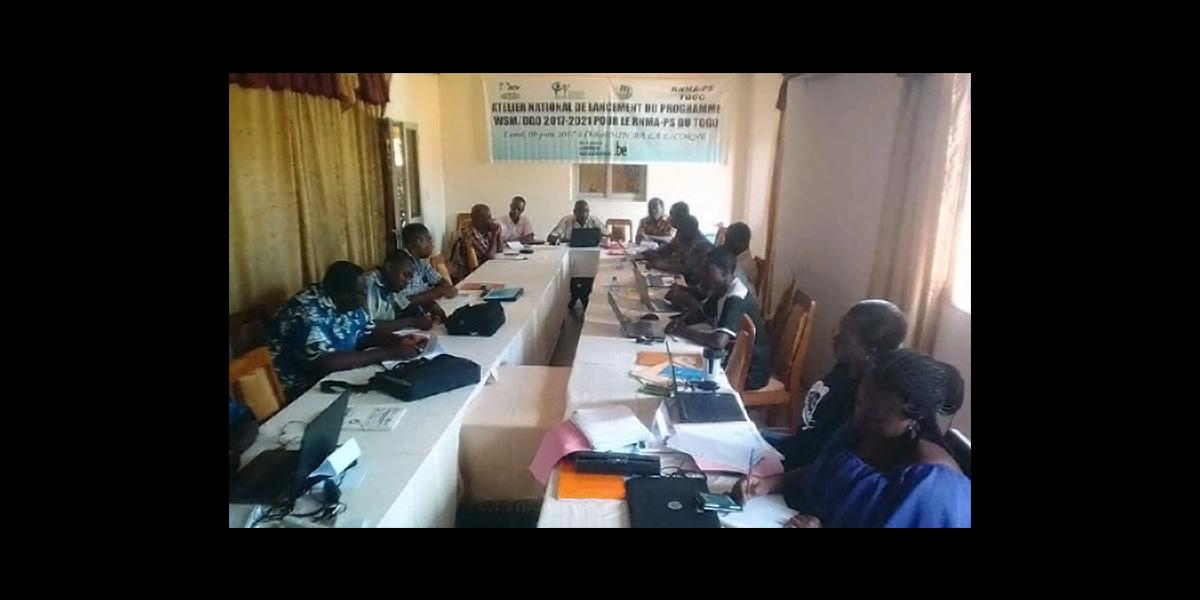 Atelier de lancement du programme 2017-2021 WSM-DGD du TOGO