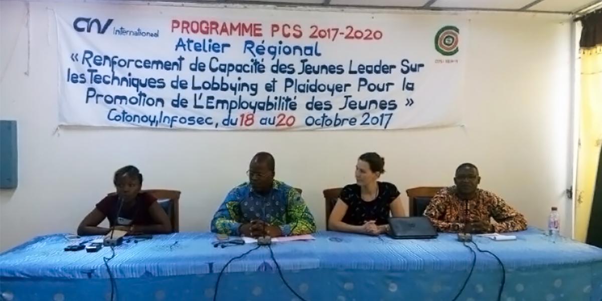 Formation sur les techniques de lobby et plaidoyer à cotonou