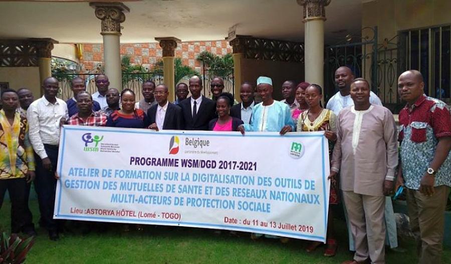 Atelier de formation à l'endroit des  organisations mutualistes des six pays africains