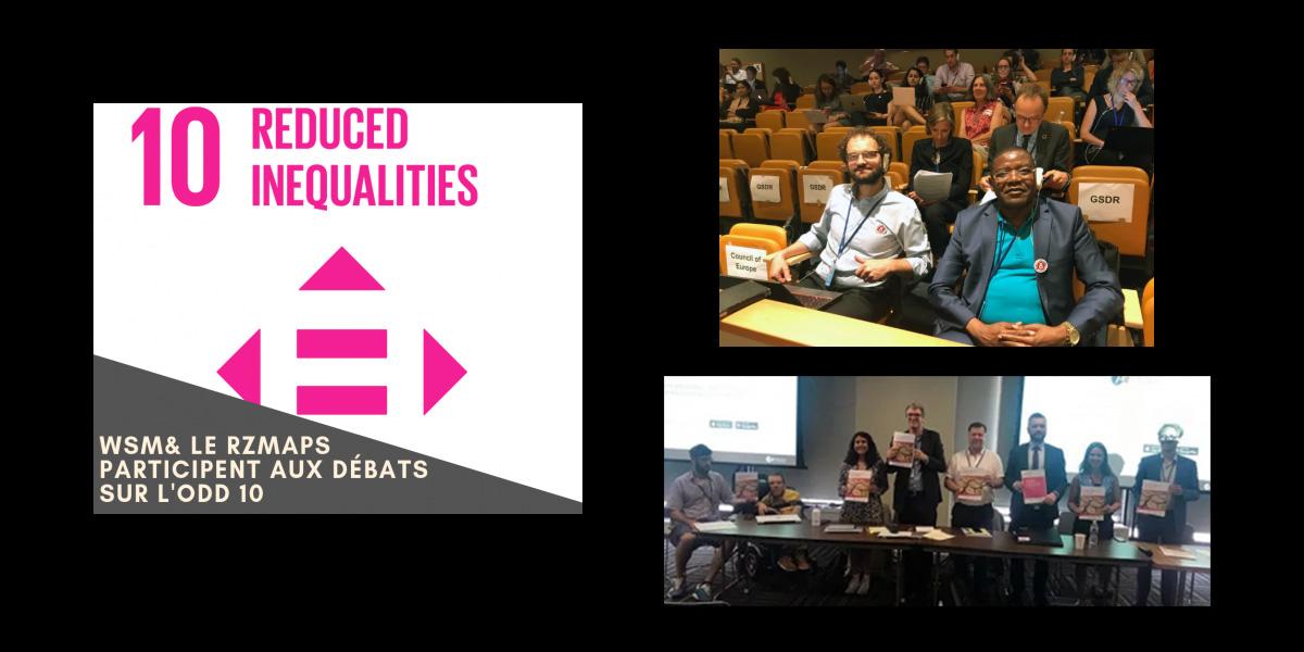 WSM et le RZMAPS participent aux débats sur l'ODD 10