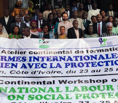 Normes internationales de travail en lien avec la protection sociale
