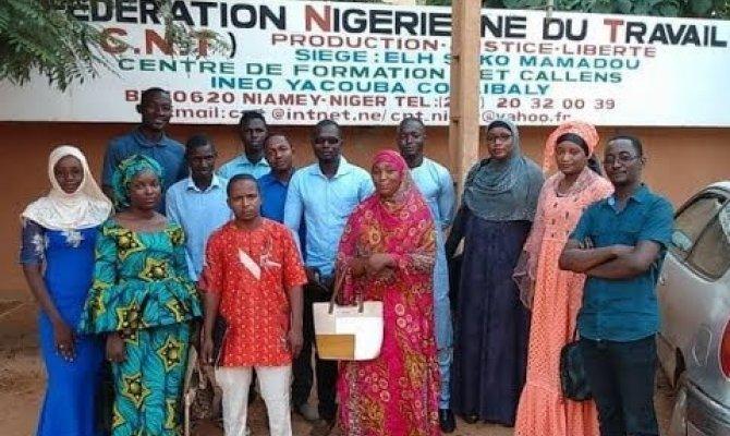Embedded thumbnail for Les jeunes syndicalistes du Niger pratiquent le dialogue social sur l'employabilité