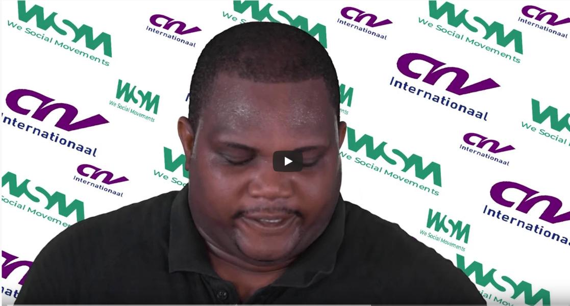 Campagne du Bureau Régional Afrique de l'Ouest de WSM et CNV Internationaal, contre le COVID-19 (CORONA VIRUS)
